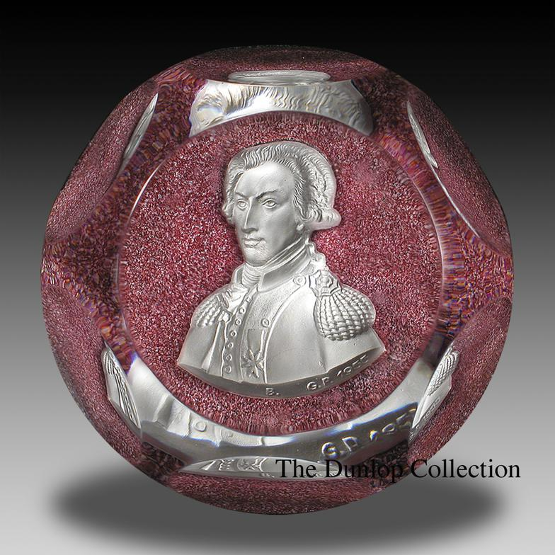 Baccarat Paperweights—two centuries of beauty